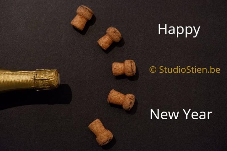 Champagne  kurk Nieuwjaar stoppers New Year