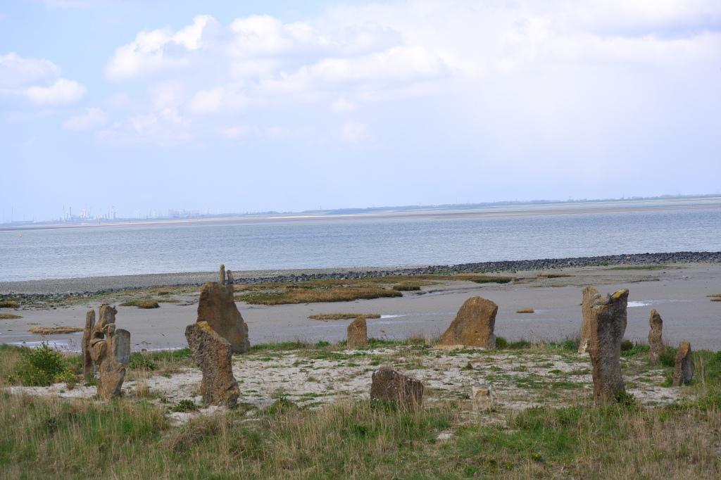 Landschap Terneuzen zee Nederland