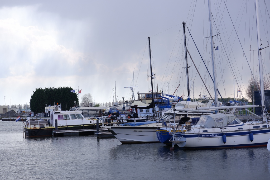 Terneuzen jachthaven stad Nederland