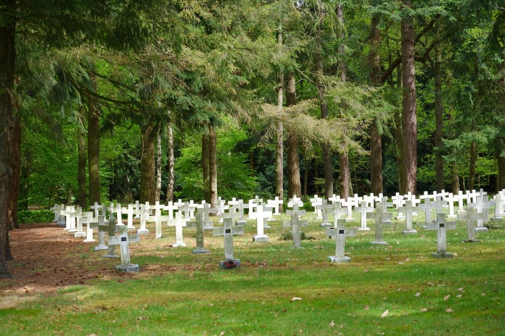 Merksplas kolonie België wandelen fotografie begraafplaats