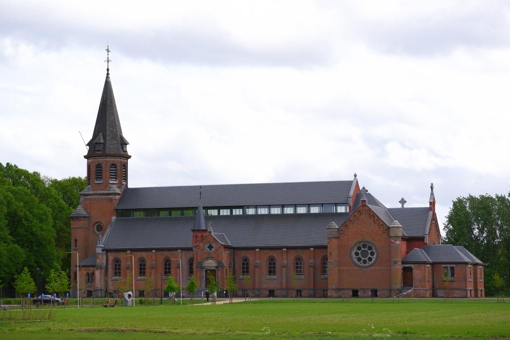 Merksplas kolonie België wandelen fotografie kapel kerk
