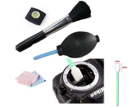 fototoestel uitrusting lens obejectief reinigen