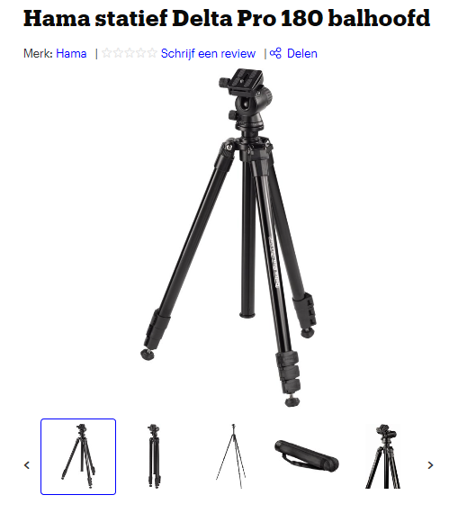 statief camerauitrusting fotografie natuurfotografie